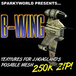 Click to download the 'B-Wing Textures'