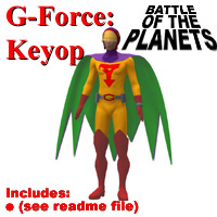 G-Force: Keyop image