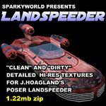 Click to download the 'Landspeeder Texture'