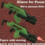 Click to download the 'M41 Assault Rifle'