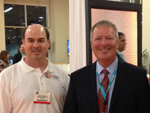 I/ITSEC 2013: John and Orlando mayor Buddy Dyer; click for larger image.