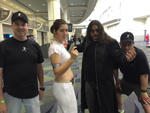 MegaCon 2015: John, Padme, the Crow, and JET; click for larger image.