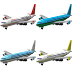 Click to download the 'Aircraft 707: 4-set 1'