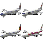Click to download the 'Aircraft 707: Asian Airlines'