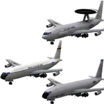 Aircraft 707: E-3 Sentry and KC-135