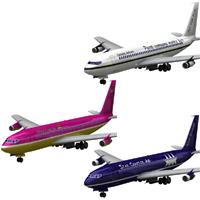 Aircraft 707 3-set 1 'ad image'