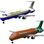 Click to download the 'Airliner 717 2-set 2'