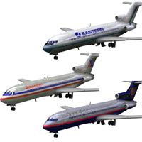 Airliner 727 3-set 2 'ad image'