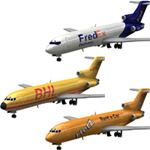 Click to download the 'Airliner 727 3-Set 1'