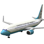 Click to download the 'Aircraft 737 Air Force One'