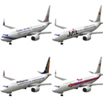 Click to download the 'Aircraft 737: Asian Airlines'