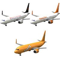 Aircraft 737 3-set 1 'ad image'
