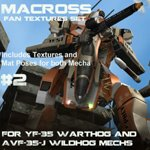 Click to download the 'Wildhog and Warthog Macross Repaints Set #2'