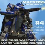 Click to download the 'Wildhog and Warthog Macross Repaints Set #4'