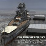 USS Arizona Free Add-On Set