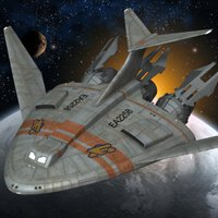 Click to download the 'Kestrel Class Shuttle (for Poser)'