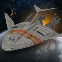 Click to download the 'Kestrel Class Shuttle (for DAZ Studio)'