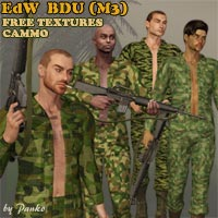 Click to download the 'BDU Texture Set - Camos'