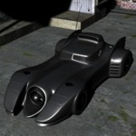 Click to download the 'Batmobile (for Poser)'