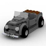 Click to download the 'Brick Antique Roadster (for Poser)'