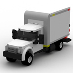 Click to download the 'Brick Box Truck (for Poser)'