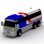 Click to download the 'Brick Bus 1 (for Poser)'