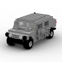 Brick Humvee