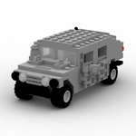 Click to download the 'Brick Humvee (for Poser)'