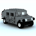 Click to download the 'Brick Humvee (for Vue)'