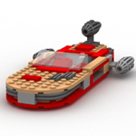 Click to download the 'Modular Brick Landspeeder (for Poser)'