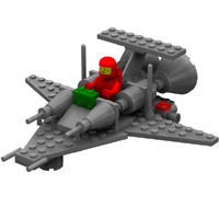 Brick Mini Spaceship 3