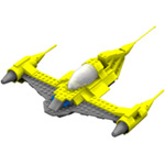 Click to download the 'Brick N1 Starfighter (for Poser)'