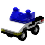 Click to download the 'Brick Police Car 1 (for Poser)'