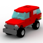 Click to download the 'Brick SUV (for Poser)'