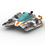 Click to download the 'Modular Brick Snowspeeder (for Poser)'