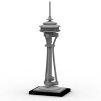 Brick Space Needle image