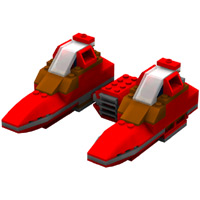 Brick Twin Pod Cloud Car image