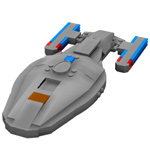 Click to download the 'Brick USS Voyager (for Poser)'