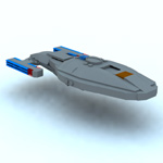 Click to download the 'Brick USS Voyager (for Vue)'