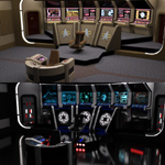 Starship Bridge 12 Add-On 1 (for DAZ Studio)
