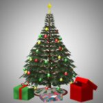 Click to download the 'Christmas Tree and Gifts (for Poser)'