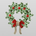 Click to download the 'Christmas Wreath (for DAZ Studio)'