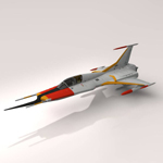 Click to download the 'Cosmo Zero Fighter (for Vue)'