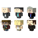 Click to download the 'Cubee Doctor Who Set 1 (for Poser)'