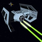 Click to download the 'Darth Vader TIE Fighter (for Vue)'
