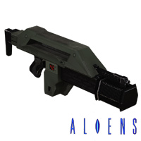 Click to download the 'Aliens M41A Pulse Rifle retrofitted legacy prop'
