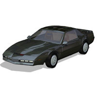 Firebird Sports Car: KITT 'ad image'