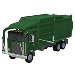 Click to download the 'Garbage Truck 2 Add-on (for Poser)'