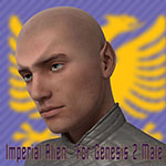 Imperial Alien for Genesis 2 Male