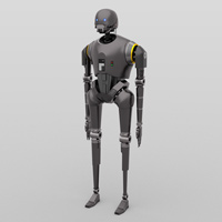 Click to download the 'K-2SO (for DAZ Studio)'